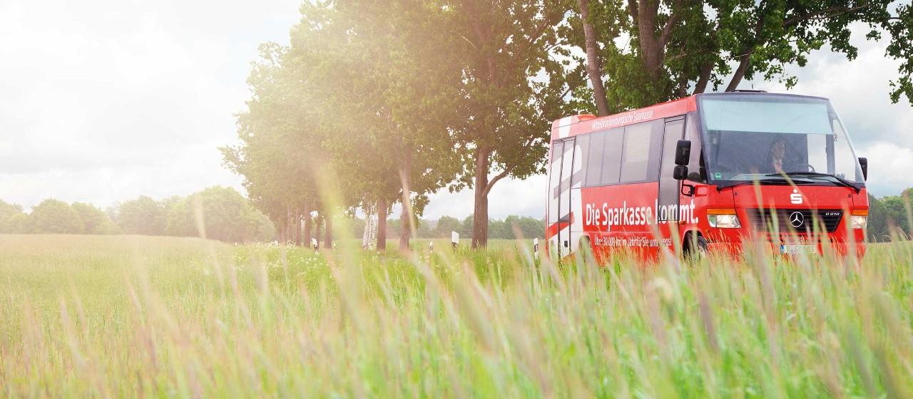 MBS-Bus Fahrbare Geschäftsstelle