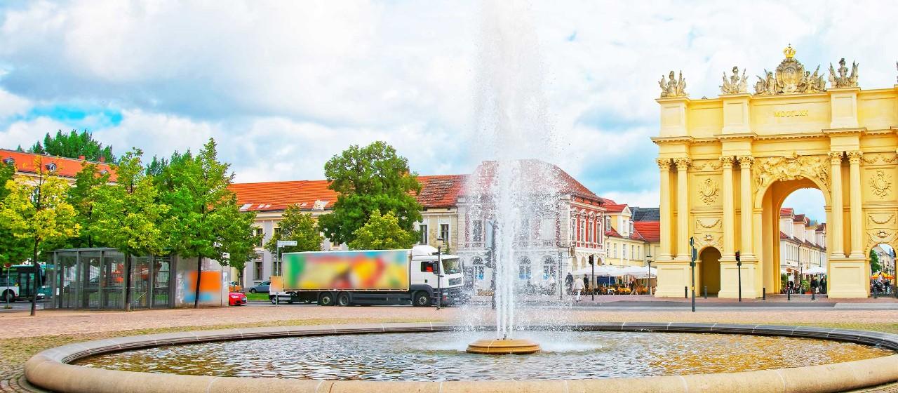Brandenburger Tor - Luisenplatz Potsdam
