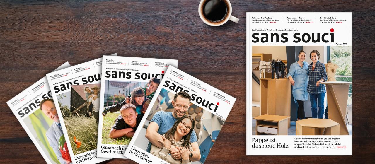 sans souci - Unser Magazin für Sie